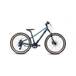 "S'COOL bicykel Xroc Disc 24"" ALTUS olivový / kamufláž"