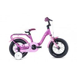 "S'COOL bicykel niXe alloy 12"" ružový / svetloružový"