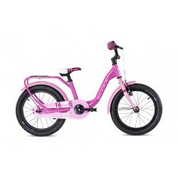 "S'COOL bicykel niXe alloy 16"" ružový / svetloružový"