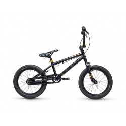 "S'COOL bicykel XtriX mini 16"" čierny / zlatý"
