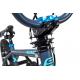 """S'COOL bicykel XtriX 20"""" šedý / matný modrý"""