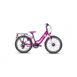 "S'COOL bicykel chiX twin alloy 20"" ružový"