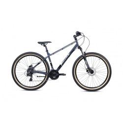 "S'COOL bicykel Xroc Disc 27,5"" čierny / šedý"