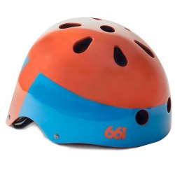 661 prilba Dirt Lid XV Orange