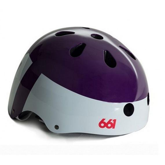 661 detská prilba Dirt Lid Purple