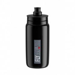 ELITE Fľaša FLY čierna šedé logo 550 ml