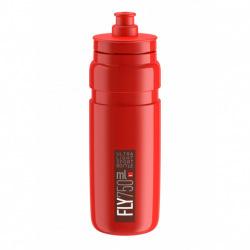 ELITE Fľaša FLY červená tmavo červené logo 750 ml