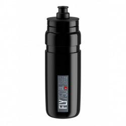 ELITE Fľaša FLY čierna šedé logo 750 ml