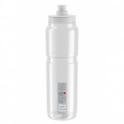 ELITE Fľaša FLY transparentná šedé logo 950 ml