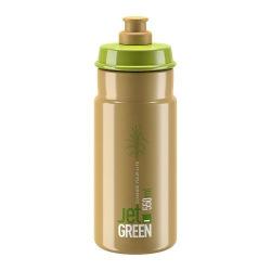 ELITE Fľaša JET GREEN hnedá 550 ml