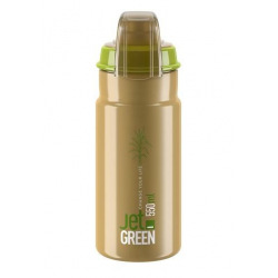 ELITE Fľaša JET GREEN PLUS hnedá 550 ml