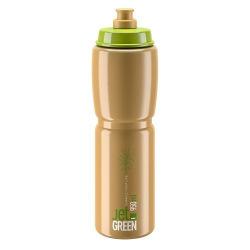 ELITE Fľaša JET GREEN hnedá 950 ml