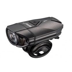 INFINI Svetlo SUPER LAVA predné 4f čierne USB + úchyt na prilbu