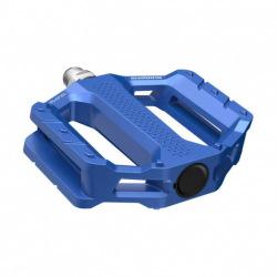 SHIMANO Pedále MTB Flat EF202 modré