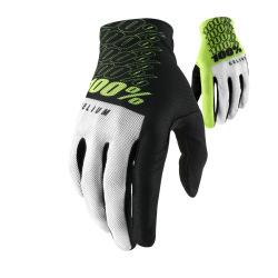 100% rukavice Celium FLUO YELLOW