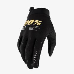 100% rukavice iTrack Black