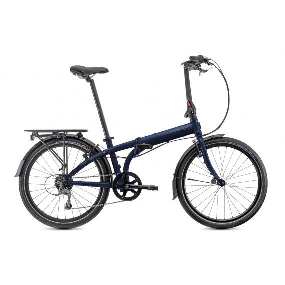 TERN bicykel NODE D8 tmavo modrá/šedá