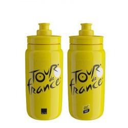 ELITE Fľaša FLY TdF 2021 Iconic žltá 550 ml