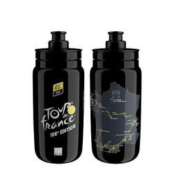 ELITE Fľaša FLY TdF 2021 Map čierna 550 ml