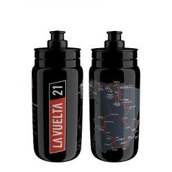 ELITE Fľaša FLY Vuelta 2021 Map čierna 550 ml