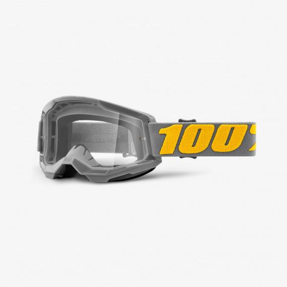 100% okuliare Strata 2 MX MTB Izipizi číre sklá