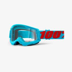 100% okuliare Strata 2 MX MTB Summit číre sklá