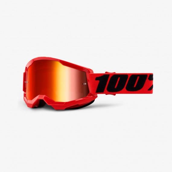 100% okuliare Strata 2 MX MTB Everest modré zrkadlové sklá