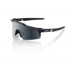 100% okuliare Speedcraft XS SOFT TACT Black dymové sklá