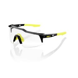 100% okuliare Speedcraft SL GLOSS BLACK PHOTOCHROMIC sklá