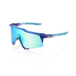 100% okuliare Speedcraft MATTE METALLIC INTO THE FADE modré zrkadlové sklá