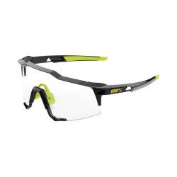 100% okuliare Speedcraft GLOSS BLACK PHOTOCHROMIC sklá