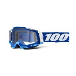 100% okuliare Racecraft 2 Blue číre sklá