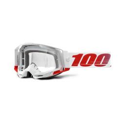 100% okuliare Racecraft 2 FREMONT číre sklá