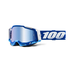 100% okuliare Racecraft 2 Blue modré zrkadlové sklá