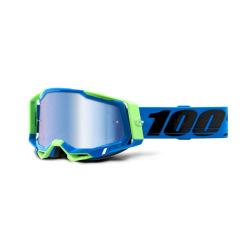 100% okuliare Racecraft 2 FREMONT modré zrkadlové sklá