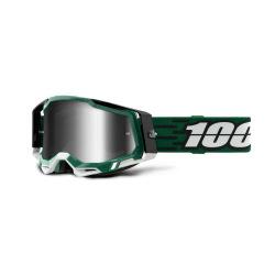 100% okuliare Racecraft 2 MILORI strieborné zrkadlové sklá