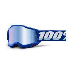 100% okuliare Accuri 2 Blue modré zrkadlové sklá
