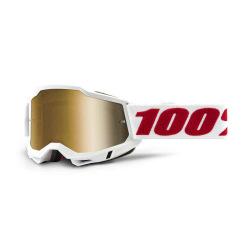100% okuliare Accuri 2 COBRA strieborné zrkadlové sklá