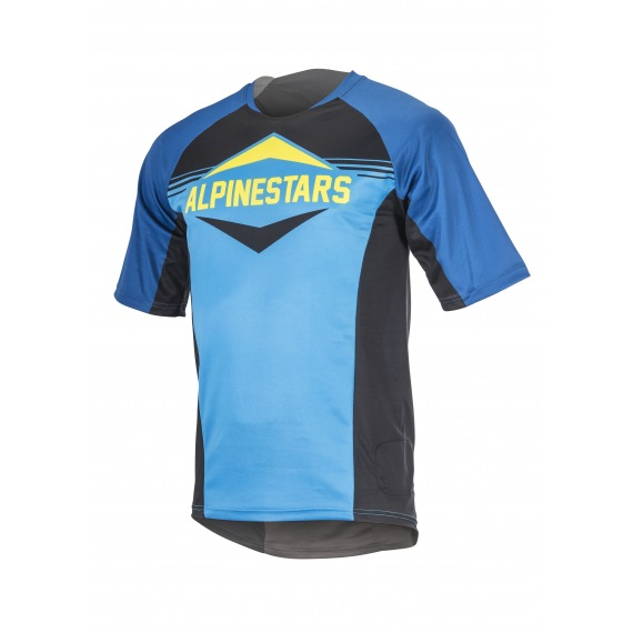 Dres Alpinestars Mesa S/S Royal Blue / Bright Blue 2017