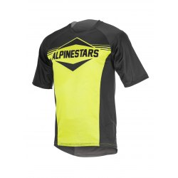 ALPINESTARS Dres Mesa S/S Black Acid Yellow