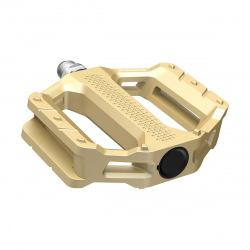 SHIMANO Pedále MTB Flat EF202 zlaté