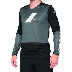 100% dres R-Core LS BLACK/WHITE