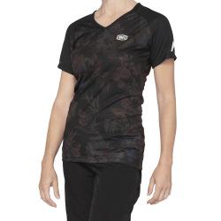 100% dámsky dres Airmatic BLACK FLORAL