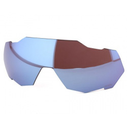 100% náhradné sklo Speedtrap HiPer modré zrkadlové