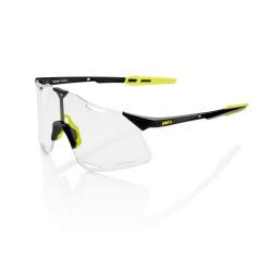 100% okuliare HYPERCRAFT Gloss Black Photochromic sklá