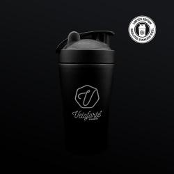 VELOFORTE fľaša PROTEIN SHAKER BLACK 550ML