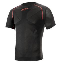 ALPINESTARS termoprádlo Ride Tech V2 Summer S/S Black Red